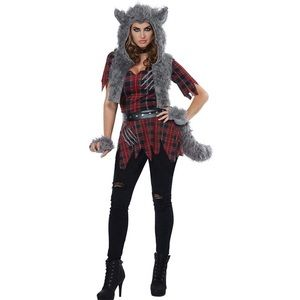 Women's She-Wolf Adult Costume